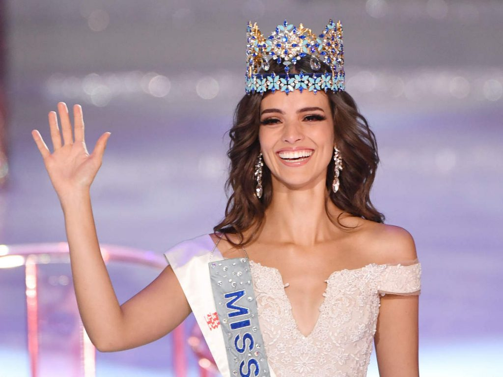 Miss Mexico Vanessa Ponce De Leon wins Miss World 2018 1024x768 - Miss Universe Crown Evolution through the years